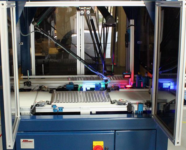 AV-R100 Inspection Machine Inside